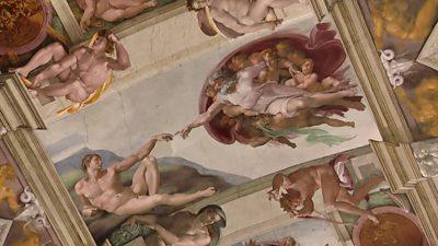 Sistine fresco
