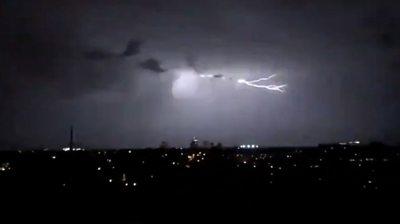 Lightning in Sydney