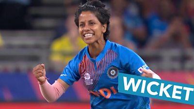 Yadav nearly grabs a hat-trick as she rips through Australia