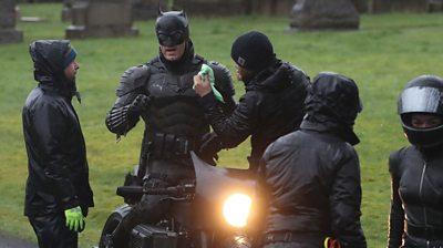 Filming The Batman in Glasgow