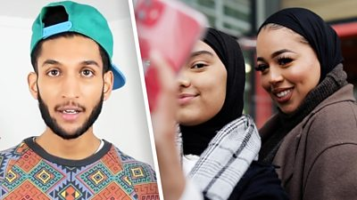 Hindu vlogger Parle Patel and Muslim influencer Juwayria Ghaz