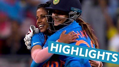 Women's T20 World Cup highlights: Poonam Yadav claims 4-19 as India stun hosts Australia