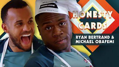 Ryan Bertrand and Michael Obafemi