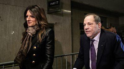 Weinstein and lawyer