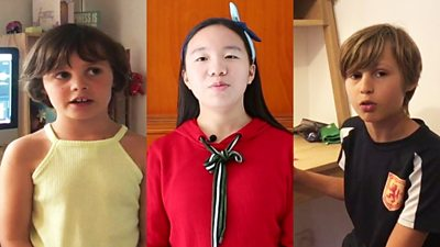 Schools across China and Hong Kong are closed and children are having to take lessons at home.