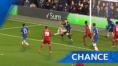 Kepa saves for Chelsea
