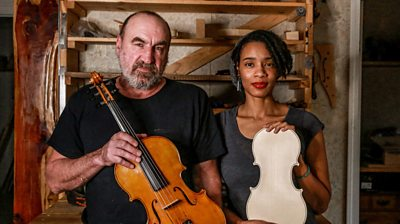 When Nashville musician Amanda asked violinmaker Ray to make her a new instrument, little did she know where it would lead.