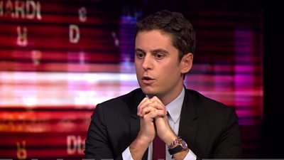 Gabriel Attal, France's Minister for Youth