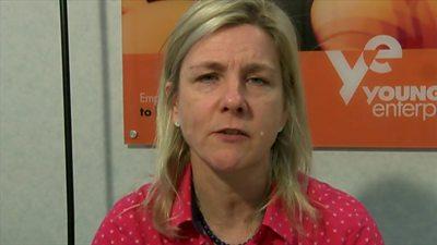 CEO of Young Enterprise, Sharon Davies