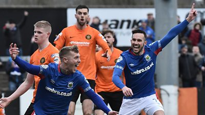 Millar hits double in win for leaders Linfield