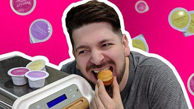 Cupcakes in a capsule