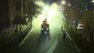 Truck in Tehran