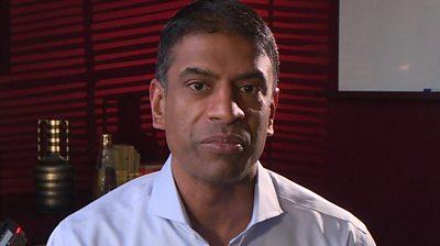 Novartis CEO Vasant Narasimhan
