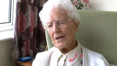 110-year-old woman