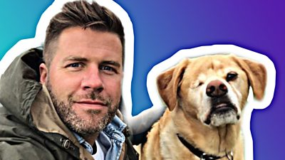 DR James and his dog Oliver