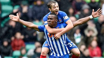 A cracker from Killie's Coulibaly