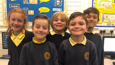 Children at Northwick Manor Primary School