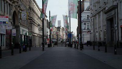 Cardiff streets