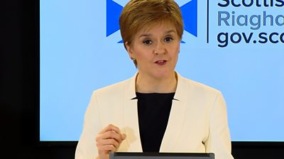 'Life shouldn't feel normal right now' - Sturgeon