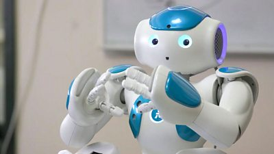 A game-playing robot