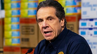 The New York governor says the city is not a test case and that the first priority should be to save lives.