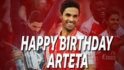 Watch Mikel Arteta's best goals for Arsenal