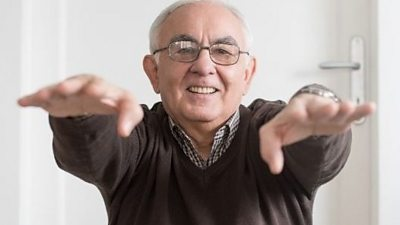 The first of our short routines to get you stretching and moving - specifically designed by and for older people. (Content from Demos and Sport England.)
