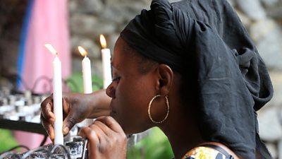 Church congregation in Lagos