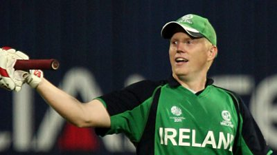 World Cup archive: Ireland's O'Brien hits England for six