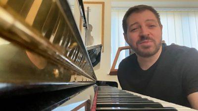 Pianist Fabio D'Andrea