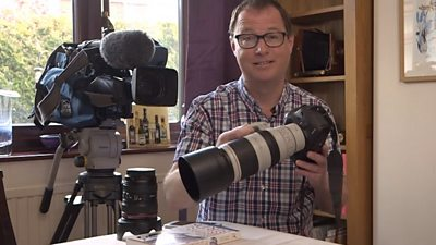 BBC cameraman Shaun Whitmore