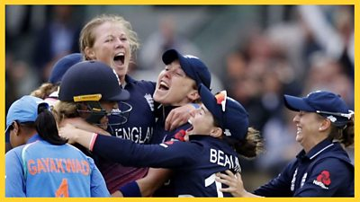 Relieve England's stunning fightback to beat India by nine runs and win the 2017 Women's World Cup at an ecstatic Lord's.
