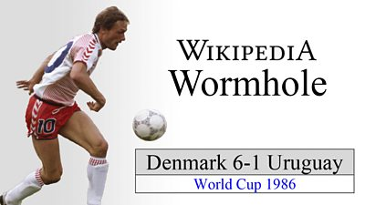At the 1986 FIFA World Cup Preben Elkjær and Michael Laudrup tore apart Uruguay, it is the sort of result that takes you down a Wikipedia wormhole.