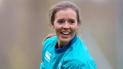 Claire McLaughlin has made 16 appearances for Ireland women