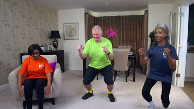 The fourth of our short routines to get you stretching and moving - specifically designed for older people. (Content from Demos and Sport England.)