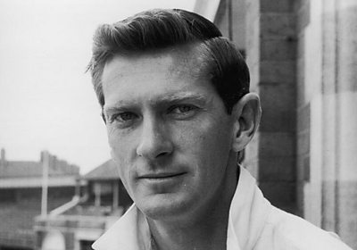 Glamorgan all-rounder Peter Walker in 1964