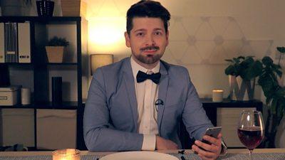 Chris Fox on smartphone