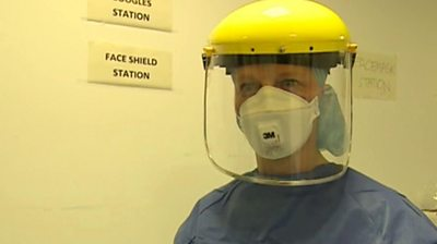 Doctor in PPE