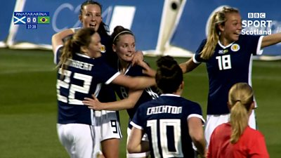 Scotland v Brazil