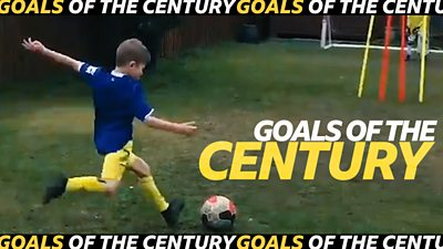 Goal of the Century video