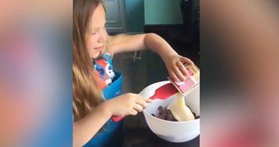 Anya cooking