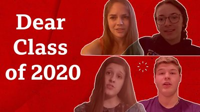 Four students share their message with the class of 2020
