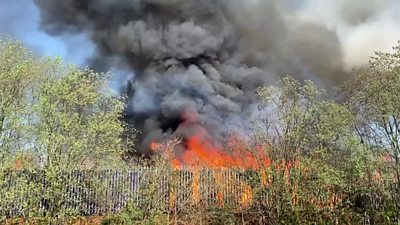 Fire in Willenhall