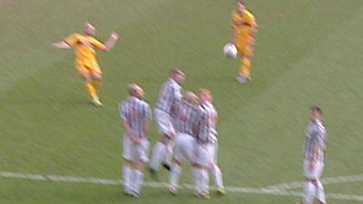 McFadden scores stunning free-kick