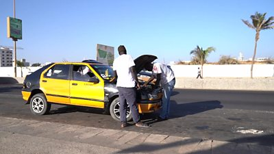 Senegal  company with tech solution for car repairs