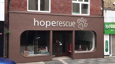 Hope Rescue shop in Pontypridd