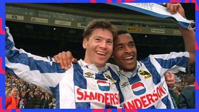 BBC Sport looks back at the historic FA Cup semi-final meeting between Sheffield Wednesday and Sheffield United at Wembley in 1993.