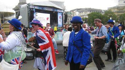 Elsie Kibue at London 2012 Olympic Games