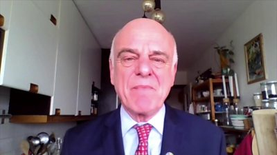 David Nabarro, World Health Organisation's special envoy for Covid-19