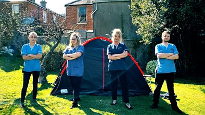 Carehome workers